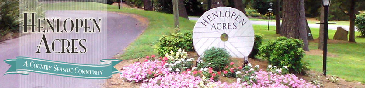 The town of Henlopen Acres, Delaware